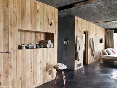Une décoration avec du bois naturel pour un décration inspirée des pays nordiques