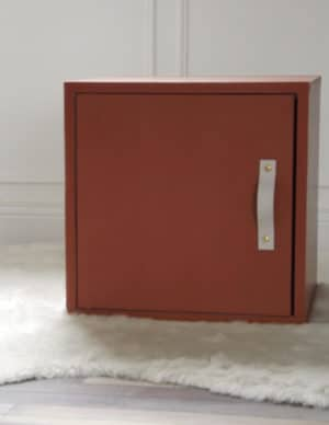 La Mehliebox velours ocre pour créer votre meuble