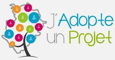Logo de la plateforme financement participatif j'adopte un projet