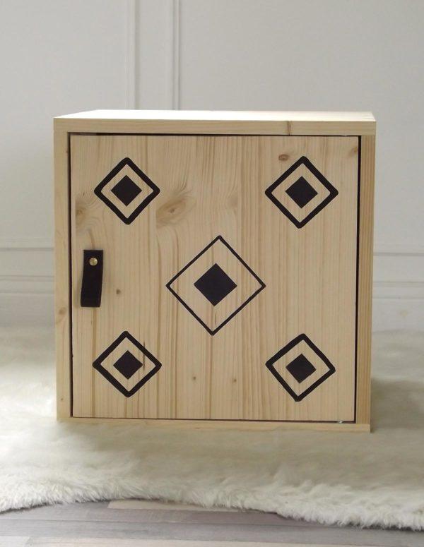 La Mehliebox ethnique bois pour le meuble duo de By Mehlie