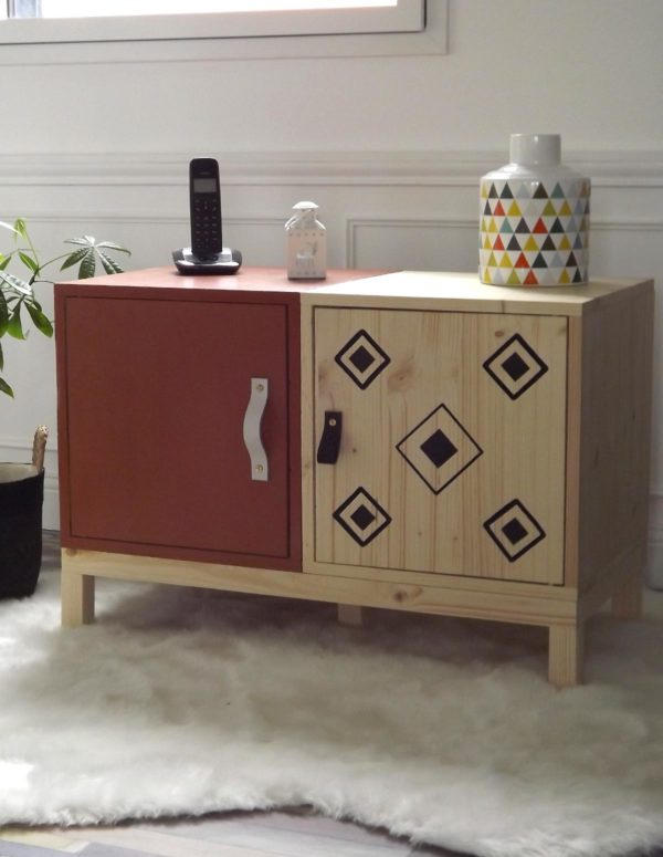 Le meuble duo exotique au style oriental et ethnique