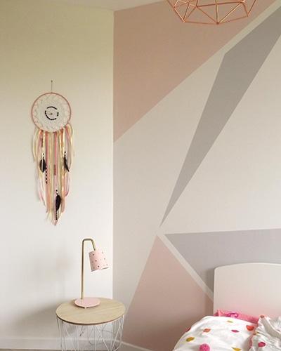 Fabriquer un attrape-rêves pour la décoration de la chambre de votre enfant. Une activité qu'il va adoré.