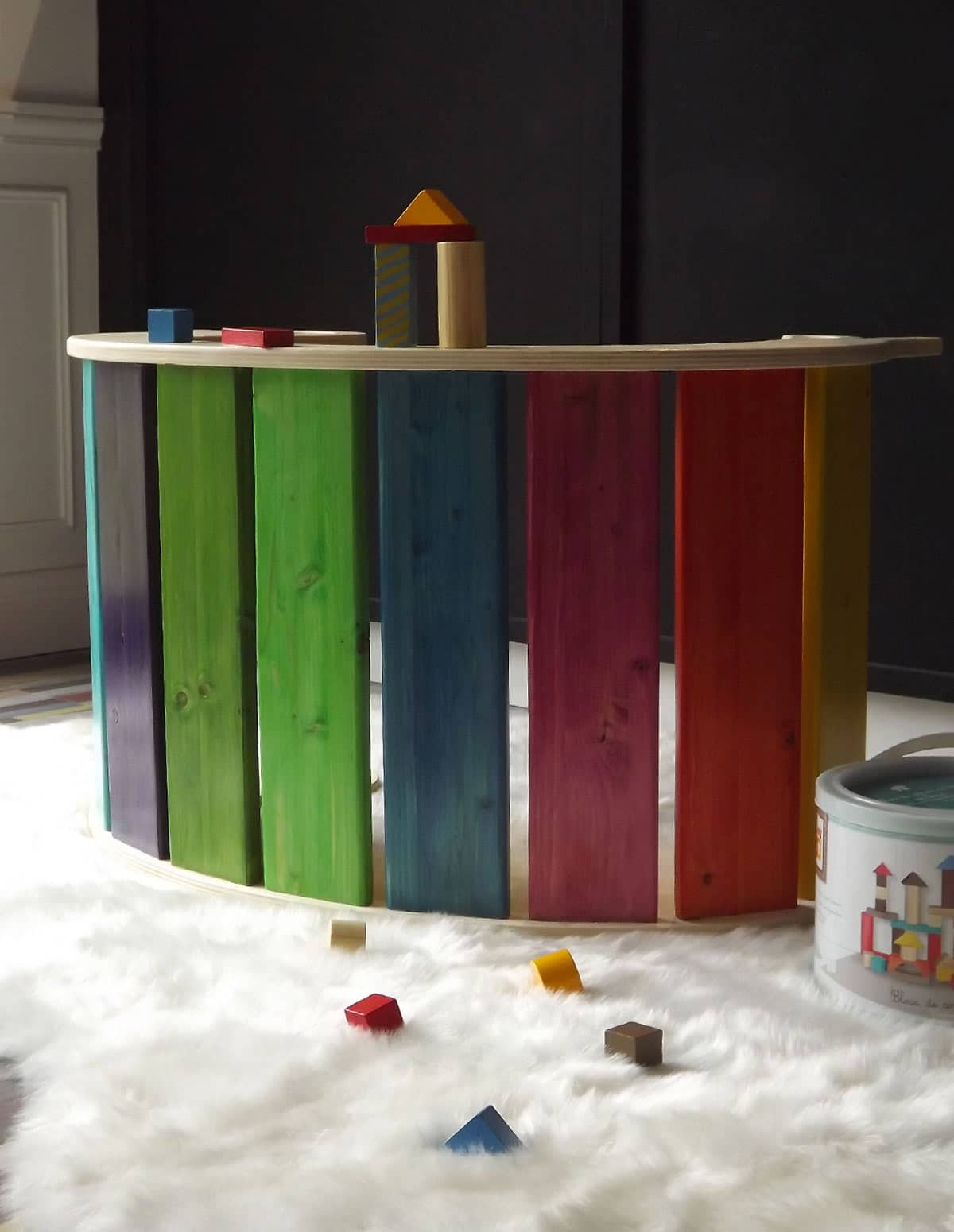animal bascule 124 jouet en bois et artisanal. Black Bedroom Furniture Sets. Home Design Ideas
