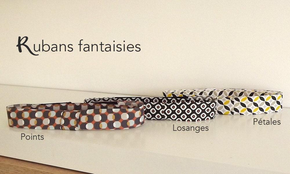Rubans fantaisies pour noeuds papillon By Mehlie : les Mehliepap