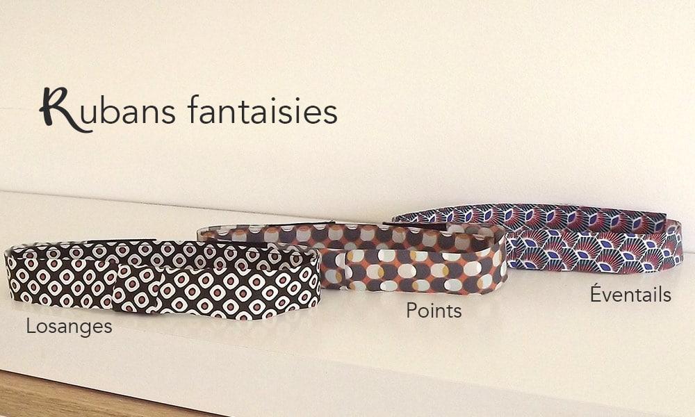 Les rubans fantaisies adapter aux noeuds papillons : les Mehliepap. Les noeuds papillons de By Mehlie