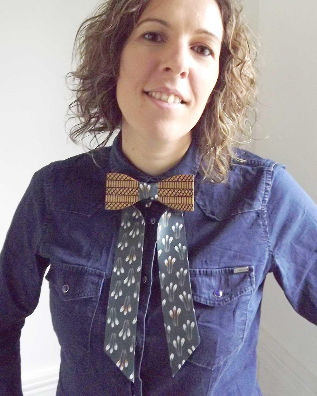 Un noeud à porter avec une chemise ou un pull à vous de choisir votre style.